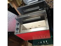 """KUKOO Commercial Electric Pizza Oven / Twin Deck 14"""" Stainless Steel """"USED"""""""