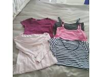 Beautiful collection of Maternity pregnancy clothes size 8, vgc