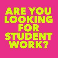 Secure Your Student Summer Work Today!