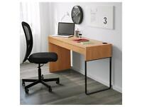 Ikea MICKE Desk Oak finish