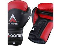 Aamron artificial leather boxing gloves