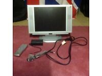 Relysys 14 inch TV and computer monitor