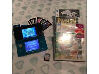 Nintendo 3DS bundled with 35 games + rare Zelda game