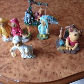 Small Children's Collection of Porcelain Cherished Teddie's. Perfect order