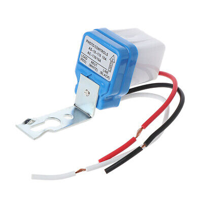 Automatic Auto On Off Street Light Switch Photo Control Sensor For Ac110v 10a