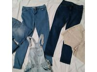 Second Hand Used Clothing Mix Long Pants Bales Bundles Good Quality
