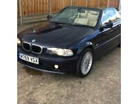 Bmw 323Ci Convertible 3 Series e46 2.5 Auto