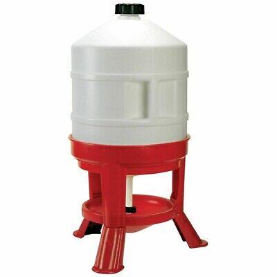 KERBL POULTRY DRINKER 30L Plastic Pet Bowl Water Container Food Safe 70233 30 L