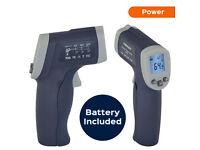 measured infrared thermometer gun