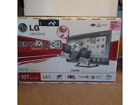 Best Gaming 42in FUL HD LED LG 400HZ 3D TV