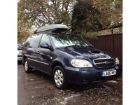 KIA Sedona 2.9 CRDi 2006 GOOD CONDITION (4 new tyres + roof rack)