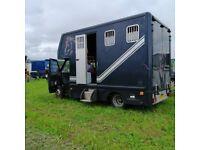 Horsebox 6.5 ton Ford iveco