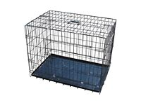 puppy or small dog crate cage