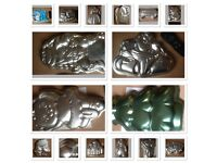 Various cakes tins for sale