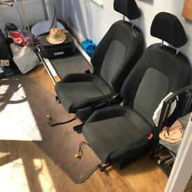 Scirocco cloth seats. Can fit others, Vw, Audi etc