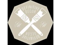 Definitive Decor - Decorating services