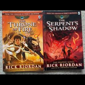 Graphic Novel Rick Riordan
