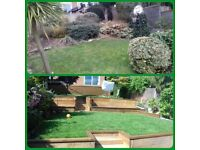 Cross and Sons. • Artificial grass • Patios • Decking • Fencing • General building.