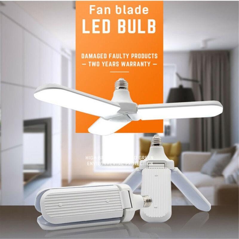 LED Garage Shop Work Lights 36W 3200LM E27 Home Ceiling Fixt