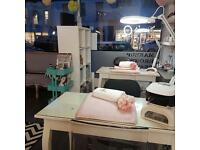 Chair/room rental for hairdressers and nail tech, massage/alternative therapist room rental