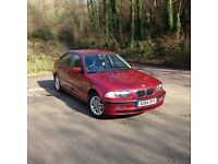 "2001 BMW E46 3 series 318i SE 1.9L petrol Metallic red "" MUST SEE """