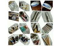 Job lot false nail equipment