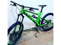 Cube hanzz downhill bike