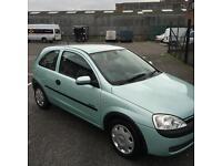 Vauxhall corsa 1.2 2001 12 months