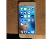 I Phone 6 plus 64GB Unlocked Good Condition White Gold color
