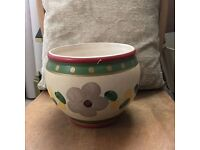 Hand made and hand painted bowl- excellent condition
