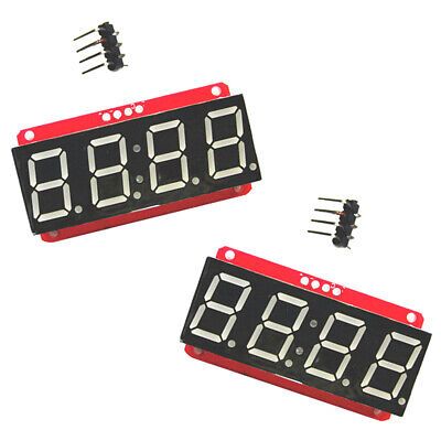 2x Led Display Module Ht16k33 I2c 0.56 4 Digit Tube 7-segment For Arduino