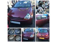 Ford Ka Luxury 1.3 2001 Manual Red (Front Bumper) All Parts Available