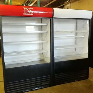 TRUE TAC-48-LD Open Display Merchandiser - Vertical Air Curtain