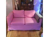 Two IKEA 2 seater sofas