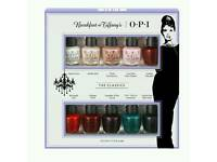 OPI Breakfast At Tiffany's The Classics 10 Mini Nail Lacquer Pack x 12