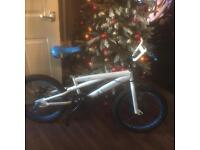 2 x ice silver fox bikes one white/ blue and white/pink
