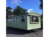 Static Caravan, Near Ayr, lovely friendly site, REDUCED NOW!!
