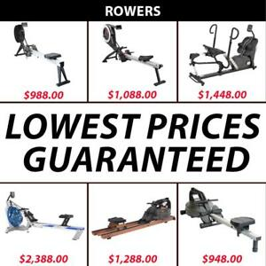 Rowers | Rower | Rowing | Ergonomic | Erg | Ergometer | Water | Air | Magnetic | Row | Chain | Nylon