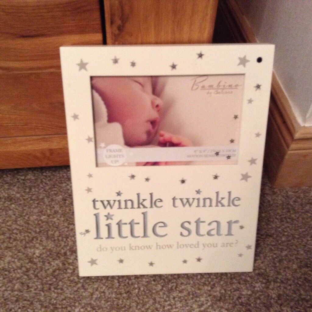Twinkle Twinkle Little Star Photo Frame That Lights Up In Kintore