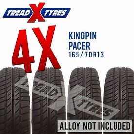 4 x New 165/70R13 Kingpin Pacer Tyre - 165 70 13 - Fitting Available