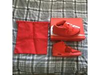 Nike Air Yeezy 2 SP 'Red October' UK 7 & 9