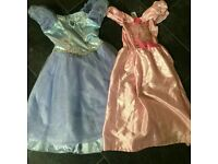 2 princess dresses age 5