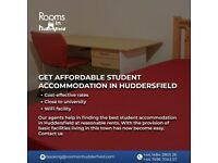 Get affordable student accommodation in Huddersfield