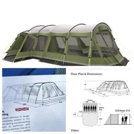 Outwell Montana 6 birth tent