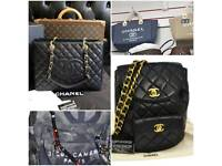 Chanel Tote BackPack Clutch Classic Boy Lamb Skin Leather