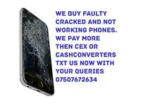 We buy recycle your old phones