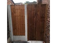 Garden gate wooden gate side gates