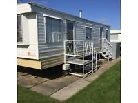 6 BERTH CARAVAN TO RENT SKEGNESS AVAILABLE NOW