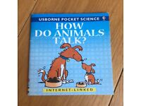 How Do Animals Talk? (Usborne Pocket Science S.) By Susan Mayes (Paperback)