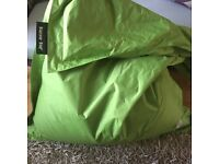 £30 each pair of lovely large outdoor bean bags by Bazaar Bag in superb condition and good quality
